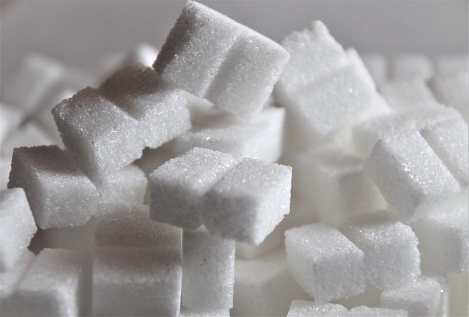bílý cukr