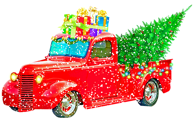 christmas-pick-up-truck-3753870_640