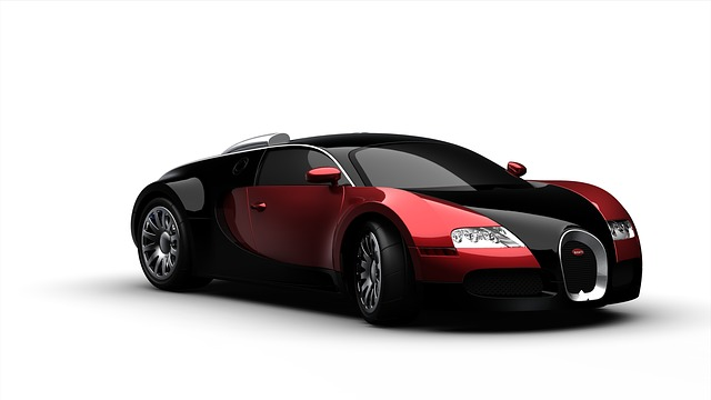 moderní sportovní automobil