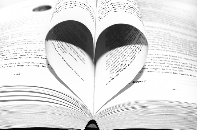 srdce z listů