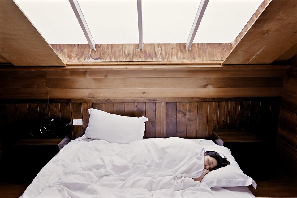 poklidný spánek