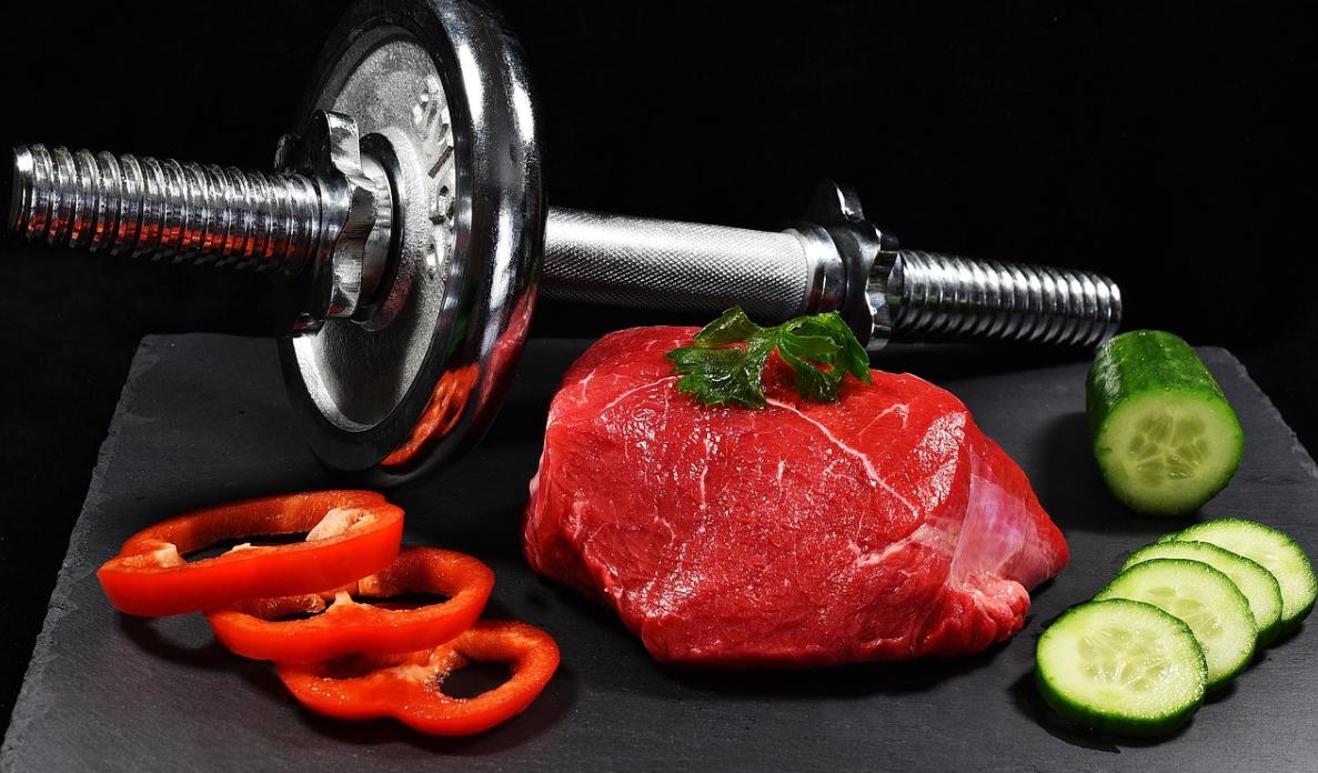 zdravé jídlo a cvičení